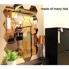 hexagon mirror ideas mirror ideas for bedrooms inspirational hexagon wall mirror acrylic mirrored decorative wall