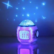Baby Children Alarm Clock Room Sky Star Night Light Music ...