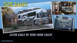 silver eagle rv coach bus stunning and quality