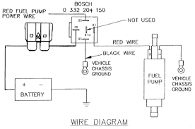 how to rewire install fuel pump relay mod fuel pump re wiring installing relay modification performance gph lph