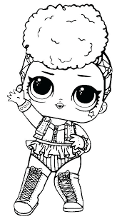Lol Surprise Coloring Pages Punk Boi Doll Coloring Pages Punk