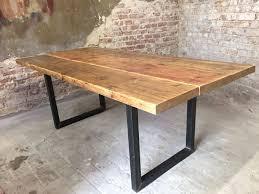Esstischhagen Gerüstbohlen Holz Tisch Recycled Upcycle