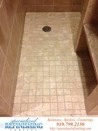 shower tile refinishing raleigh