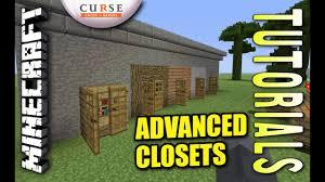 Minecraft Closet Design Minecraft Ps4 Advanced Closet Design How To Tutorial Ps3 Xbox