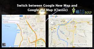 map and google old map clic