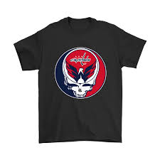 NHL Team Washington Capitals x Grateful Dead Logo Band Shirts ...