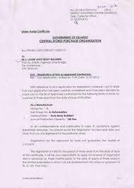 Certification Laxmi Auto Body Builders