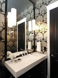 Interior Design Style: Art Deco bathroom/powder room  Characteristics:  Roaring 20's;