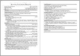 Ideas Collection Examples Of Two Page Resumes With Proposal