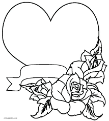 Free Coloring Pages Hearts Trustbanksurinamecom