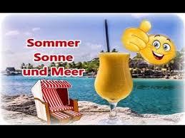 Sommer Meer Relexen Lebensfreude Strand Sonne Guten Morgen
