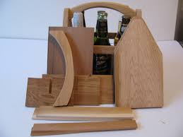 10 diy wood 6 pack bottle carriers beer boat or beer tote gifts for men gifts for dad groomsmen gifts fotofuze