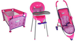 Graco Room Full of Fun Baby Doll Playset Toys