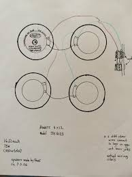 marshall 4 x12 vs hiwatt 4 x 12 inputs marshallforum com i don t have a wiring diagram but a sketch i made a while back instead i didn t indicate though and on the speakers hope it will still be of