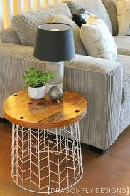 diy end tables diy living room decor
