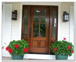 wooden front doors with glass panels wickes