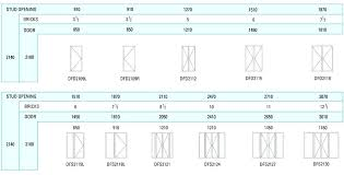 French Size Chart Standard Window Sizes Chart South Africa Www