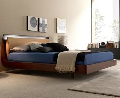 perfect contemporary wood bed modern for design decorating