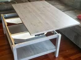 hemnes lift top coffee table