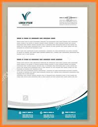 Sample Business Letter Header How To Write A In Excellent Heading