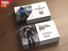 Photography Business Cards Template Psd By Psd Zone Dribbble