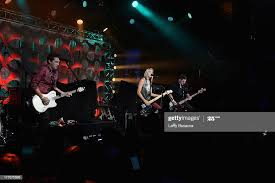 Nate McCoy, Kristen Kearns and Dustin McCoy of the band Darling... News  Photo - Getty Images