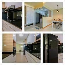 Open Kitchen Concept Open Concept Kitchen With Glass Door At Sengkang East