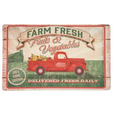 mohawk home vegetable trucks multi 18 in x 30 in kitchen mat