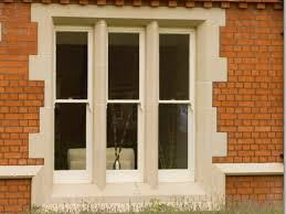 Cast Stone Window Mullions In Bespoke Design And Matching Style