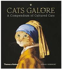 cat artwork book parody of famous paintings