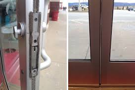 commercial front aluminum door