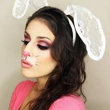 cute rabbit makeup look