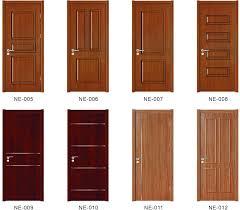 striking panel wooden door hot new design pe wooden door panel door jinkai
