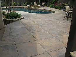plain concrete patio. Sara Plain Concrete Patio