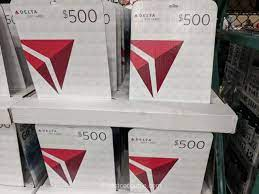 delta airlines 500 gift card
