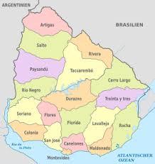 Bildergebnis für uruguay karte