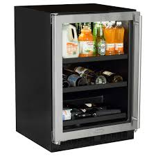mlbcg1 marvel 24 inch beverage center with convertible shelves closed