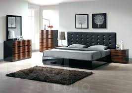 Modern White Leather Bedroom Set Tag: leather bedroom set ...