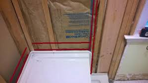 drywall or cement board for shower image cabinets and