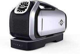 There are rvs out there that have the capability to their a/c from solar for an extended period,. Amazon Com Zero Breeze Mark 2 Battery Powered Portable Air Conditioner 2300 Btu 240w Low Power Consumption With 24v Dc Off Grid Design For Outdoor Rv Life Appliances