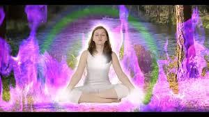 Purple Light In Meditation I Am The Violet Light Meditation