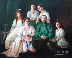 romanov family painting romanov family portrait by george alexander
