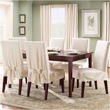 amazing dining room chair covers best of sure fit cotton duck dining room chair covers designs