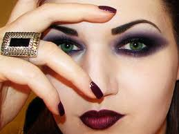 gothica dark gothic makeup tutorial by misschievous