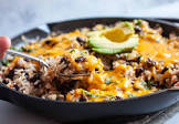 black beans   rice with cheese