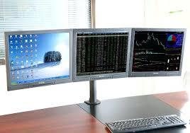 Triple Display Monitor Stand Triple Monitor Stand agrihajri 48
