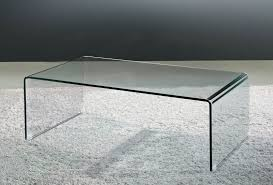 viva modern arch waterfall coffee table bent glass curved glass cocktail table living room furniture contemporary furniture from ultra modern