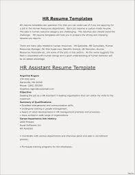 Resume Template For Fresher Teacher New Resume Example For Freshers