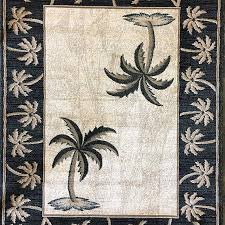 palm tree tropical point area rug black green design rugs page of interior exterior inspiration teal southwestern gold kitchen white berber throw