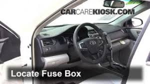 2015 2016 toyota camry interior fuse check 2015 toyota camry xle interior fuse box location 2015 2016 toyota camry